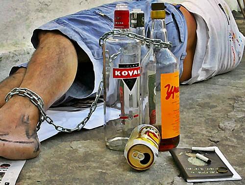 alcohol slave
