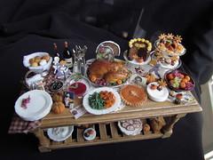 Dollhouse Thanksgiving
