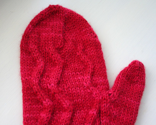 Ambroso mitten top close up