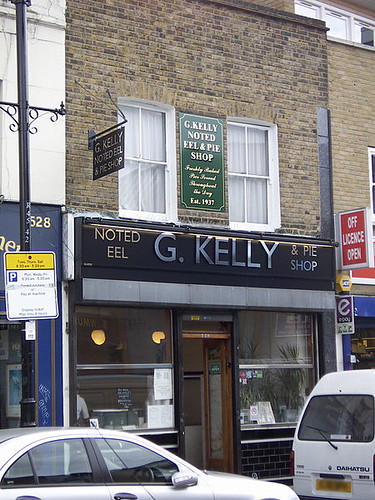 G Kelly Pie and Mash Shop