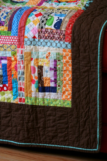 Wonky Baby Quilt