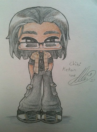Chibi sketch of Ket by Destiny Blue