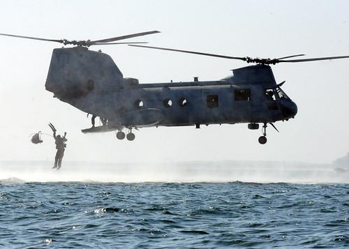 無料写真素材, 戦争, 軍用機, ヘリコプター, CH シーナイト, アメリカ軍