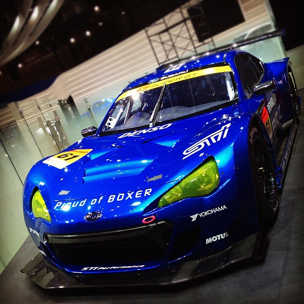 SUBARU BRZ Tokyo motorshow press day