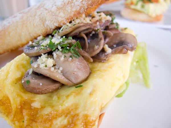 Turkey Ham Omelette