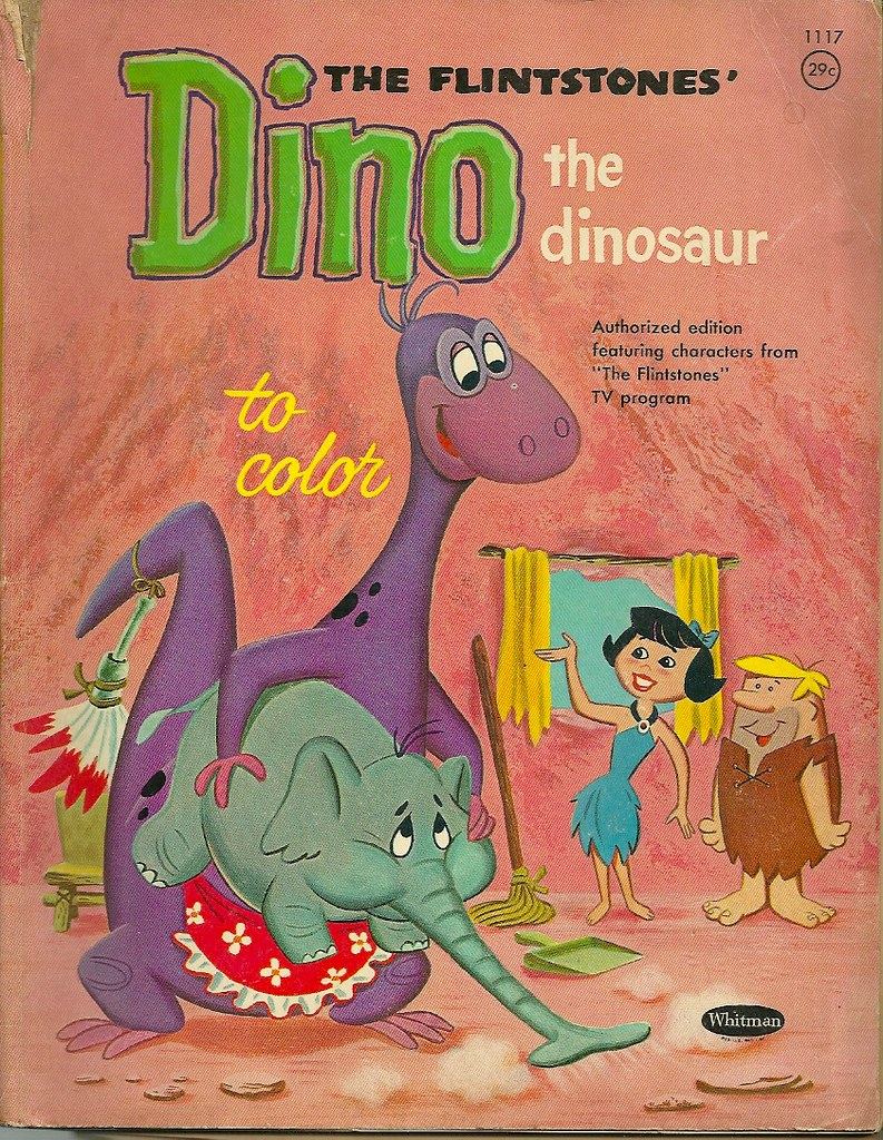 dino from flintstones coloring pages - photo#35