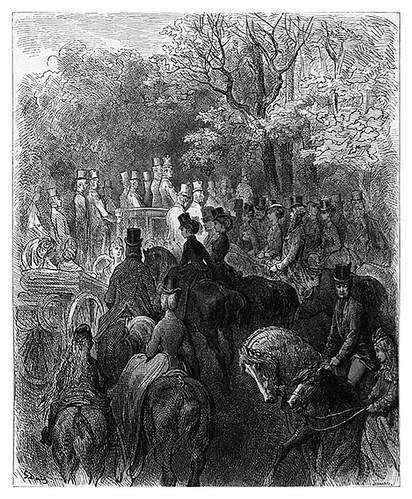 013-Una tarde en el parque-London A Pilgrimage 1890- Blanchard Jerrold y Gustave Doré- © Tufts Digital Library