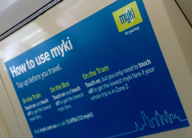 Myki: how to use