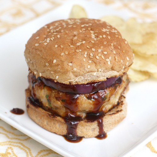 Barbecue Chicken Burger