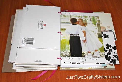 Beautiful Way to Preserve Wedding Cards