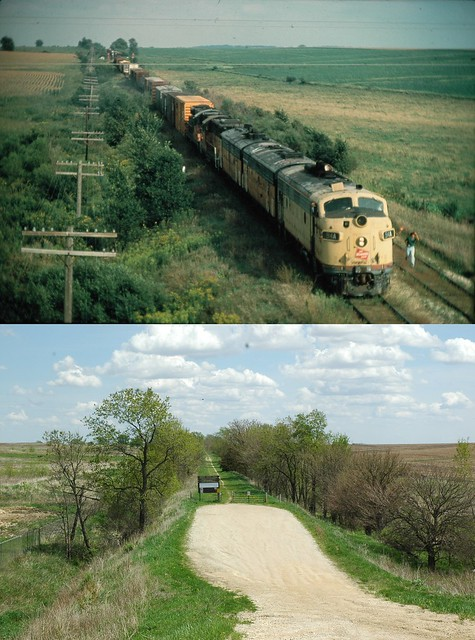 Milwaukee Rd Marion Iowa Sept 1979 Before Amp After 2011