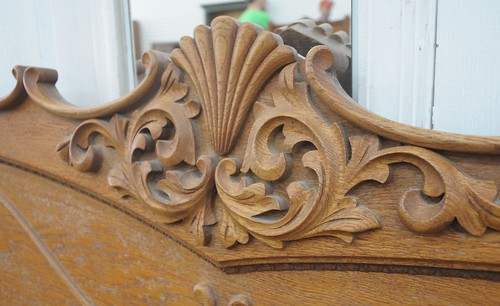 decorative wood headboard