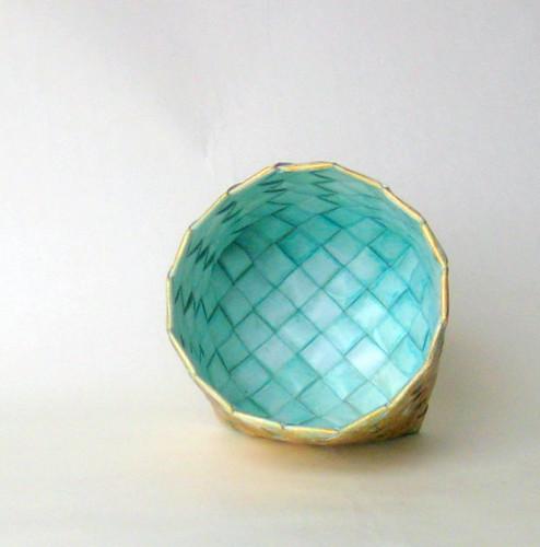 Woven Paper Bowl