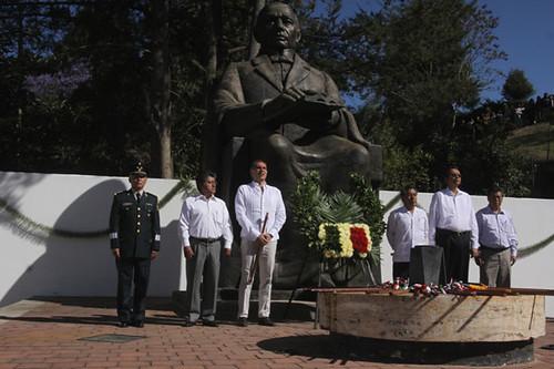 Gabino Cué, CCVI aniversario del natalicio del Benemérito de las Américas, don Benito Juárez García, Oaxaca