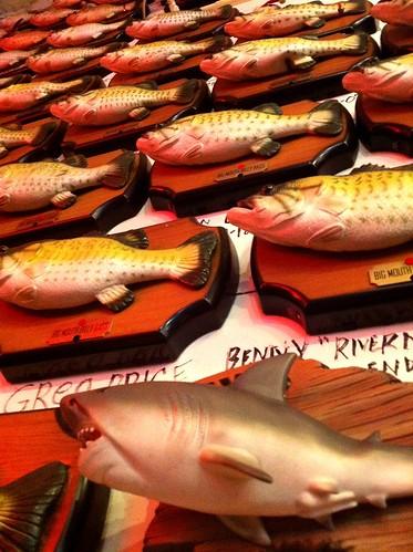 Billy Bass Wall, Flying Fish, Memphis, Tenn.