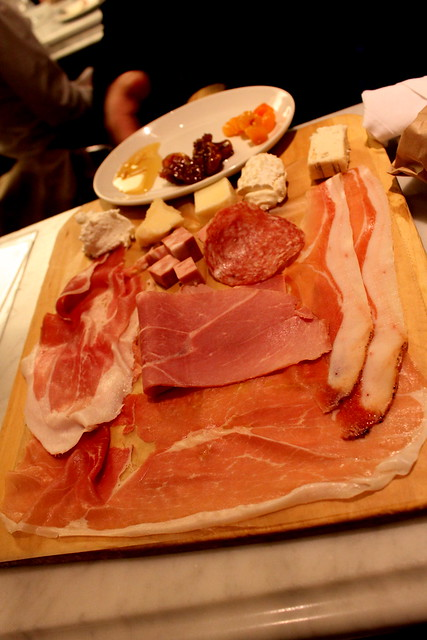 meat & cheese plate