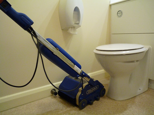 Duplex 280 Floor Scrubber for Toilets Floor and Carpet Cleaning