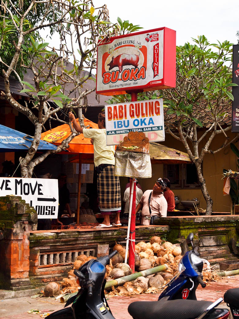 Bali - Ibu Oka, Ubud