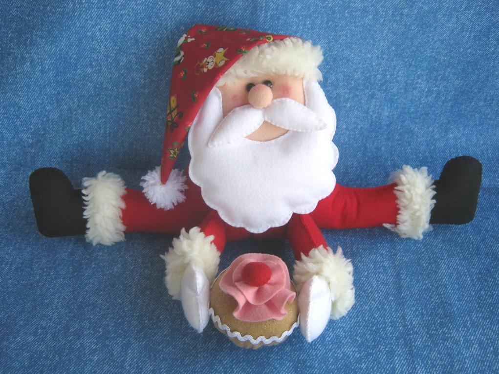 Noel com cupcake!