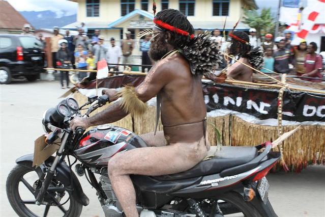 nude biker