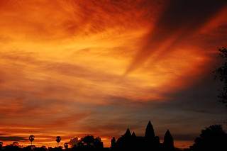 Sunrise over Angkor Wat 4