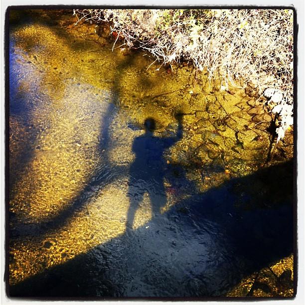 Macedonia brook reflection