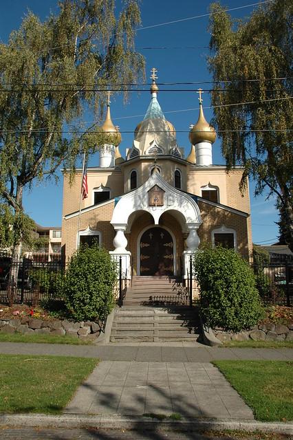 Свято-Николаевский собор в Сиэттле