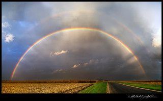 Double Rainbow Panorama 10/13/11