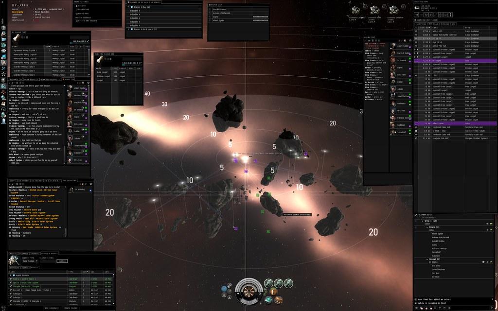 Eve Online Mining Op