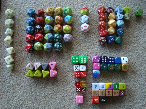 A pound of dice