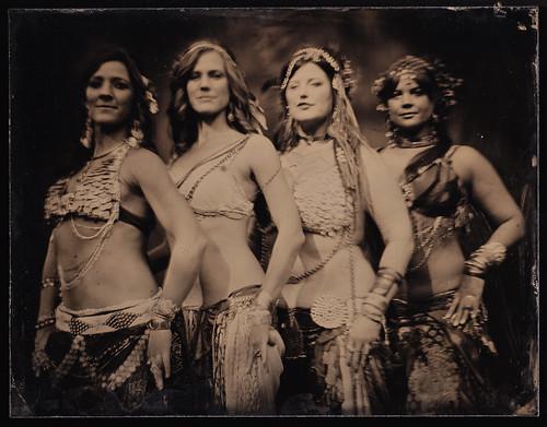 Nashville tintype photography fusion bellydance bodhicitta