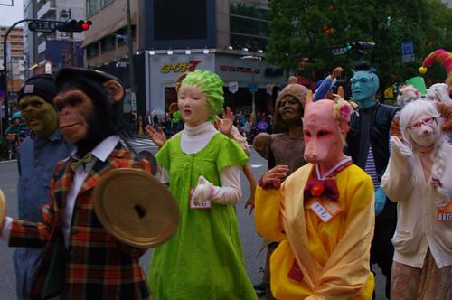 KAWASAKI HALLOWEEN 2011 Parade IMGP8357