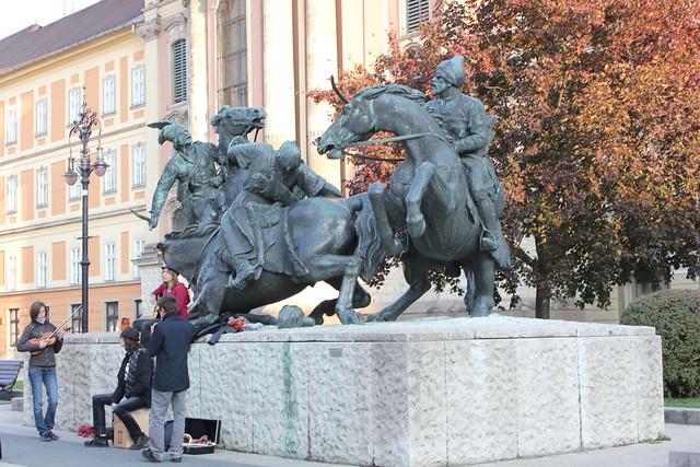 Los invasores turcos en Eger