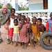 Dave with children of Pugu