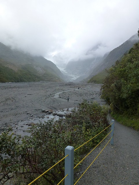 The walk up to the Franz Josef Glacier