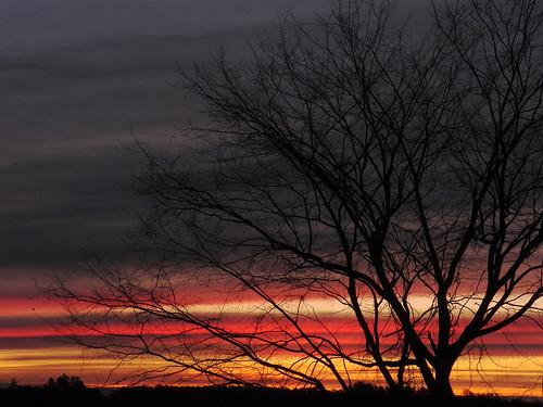 morning light sky usa cloud color colour nature clouds sunrise skyscape landscape landscapes maine places kennebec kennebeccounty