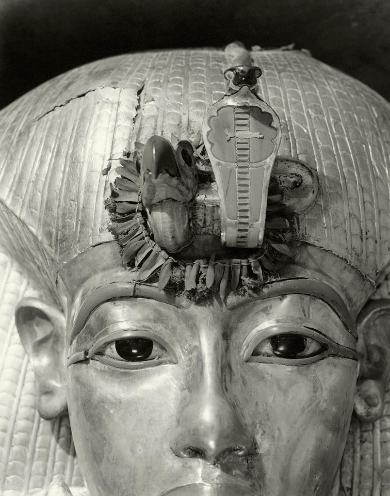 Outermost Coffin of Tutankhamun, 1926, by Harry Burton