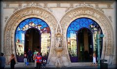 Puertas de la Estacion de Rossio Lisboa