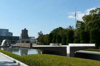 Cenotafio y Llama de la Paz