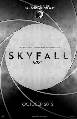 """""""Skyfall"""" Teaser Poster #5"""