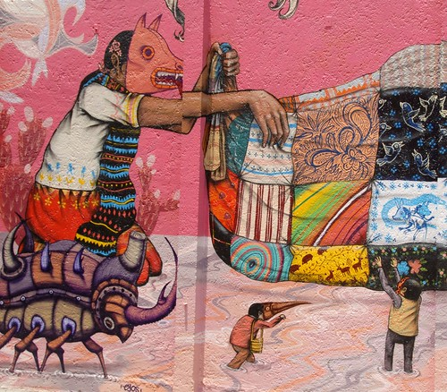 Flickriver ilhuicamina 39 s photos tagged with murals for Aztec mural tattoos