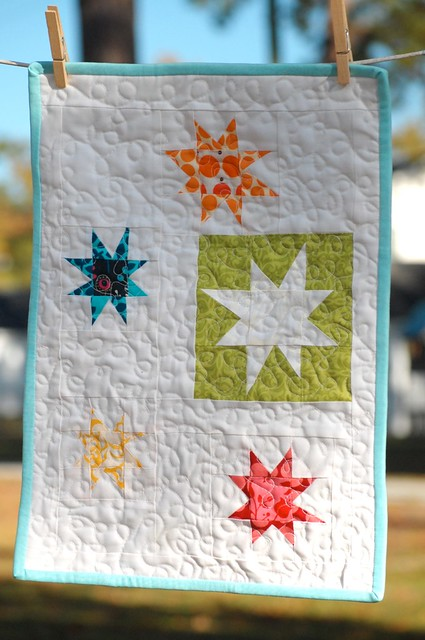 Post Summit Swap - mini quilt!