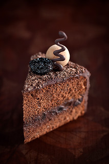 Chocolate Prunes Cake