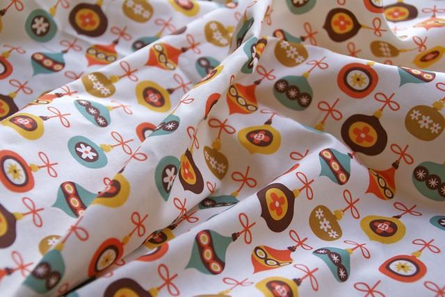 Christmas balls fabric!
