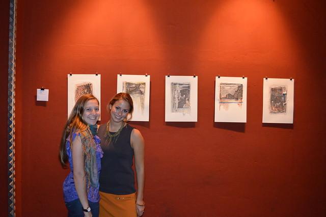 Maddie and Maddie at Circolo