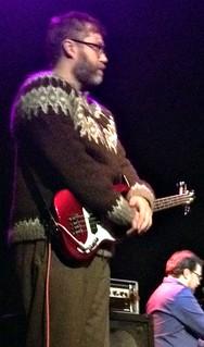 John Roderick wearing Óðinn