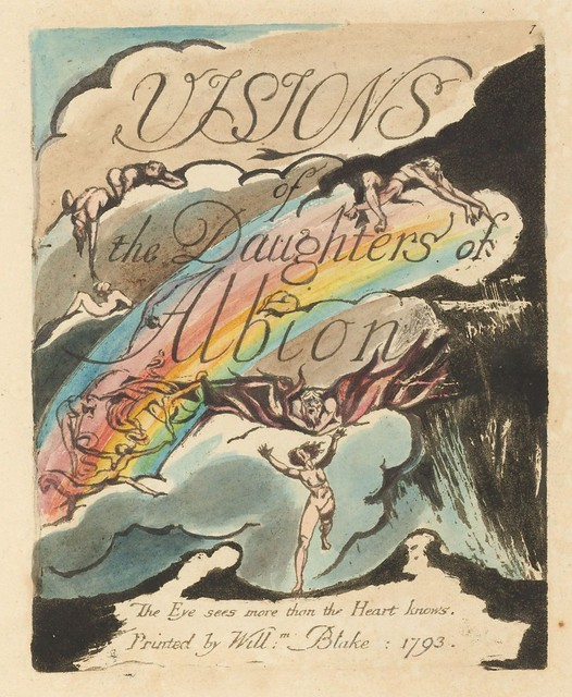 Visions of the Daughters of Albion (title page)