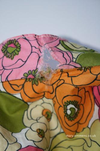 Vintage dress repair