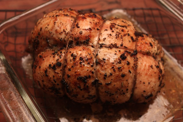Slow-Roasted Herbed Turkey Breast - Amateur Gourmet