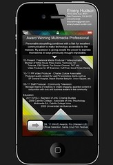 Emery Hudson iPhone Resume